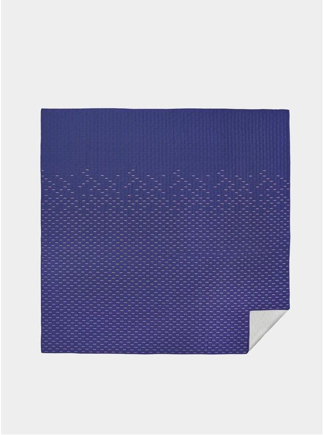 Blue Modern Kantha Quilted Blanket