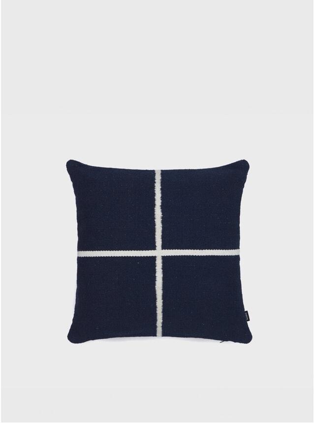 Blue Square Jama-khan Cushion