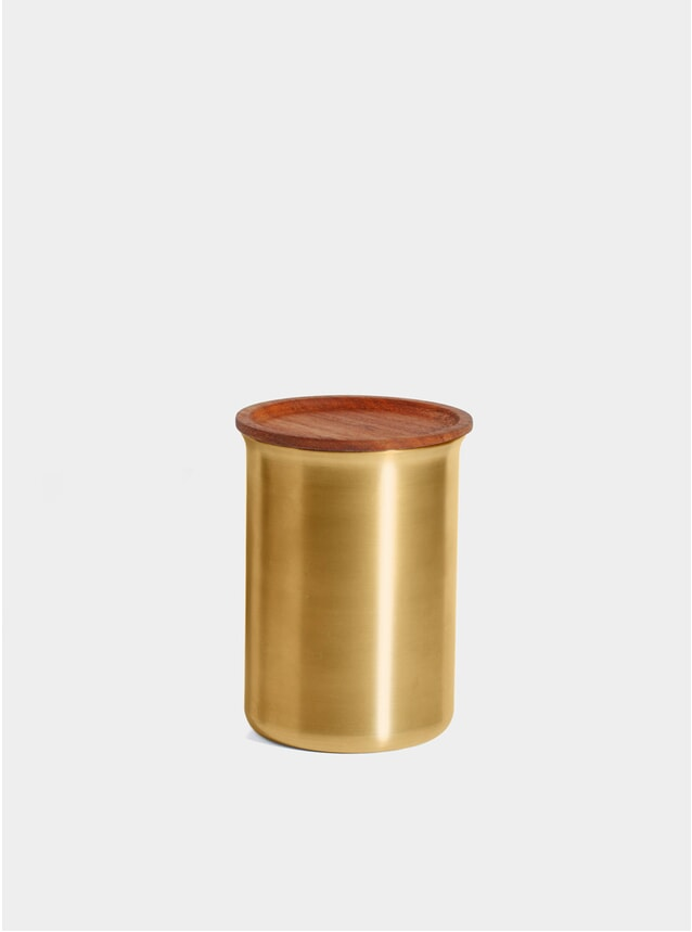Brass Storage 0.75L Jar