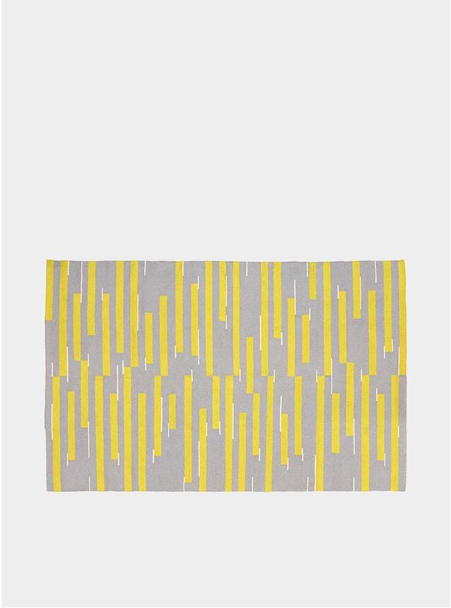 Grey / Yellow Jama-khan Rug