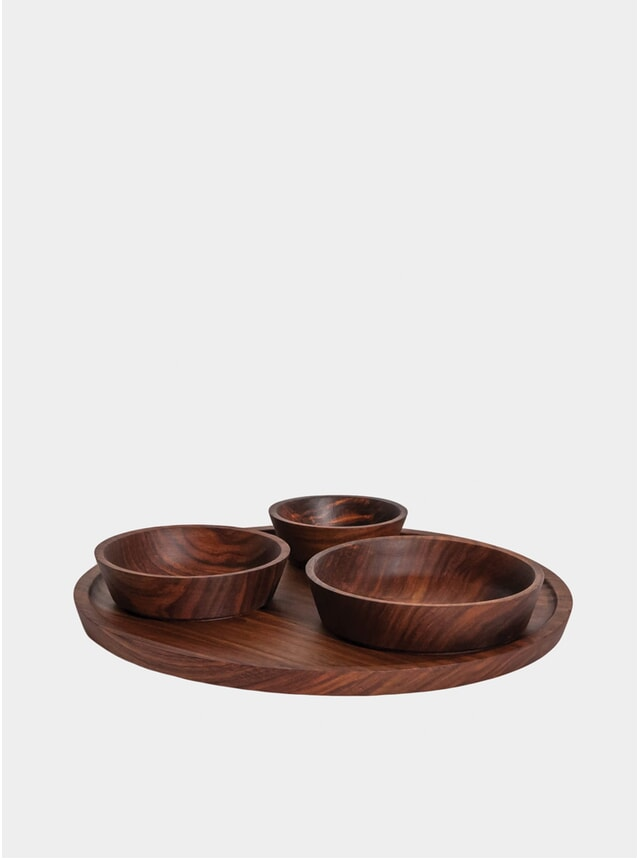 Seva Platter and Bowls Set
