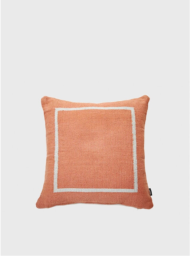 Terracotta Jama-khan Cushion