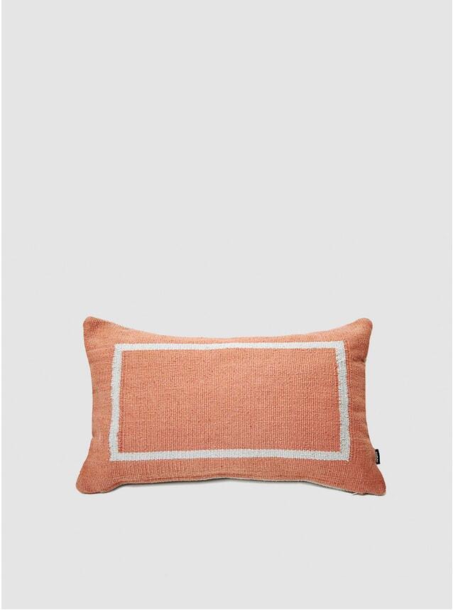 Terracotta Jama-khan Rectangle Cushion