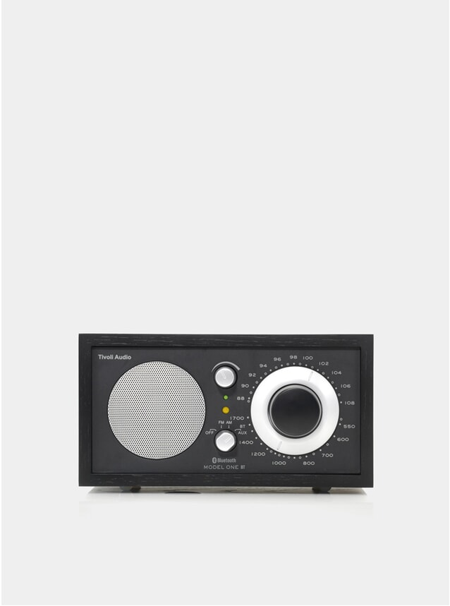 Black Ash / Black Model One Bluetooth Radio