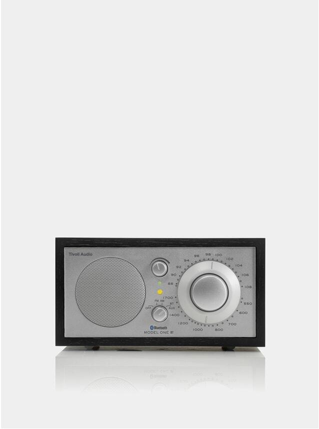 Black Ash / Silver Model One Bluetooth Radio