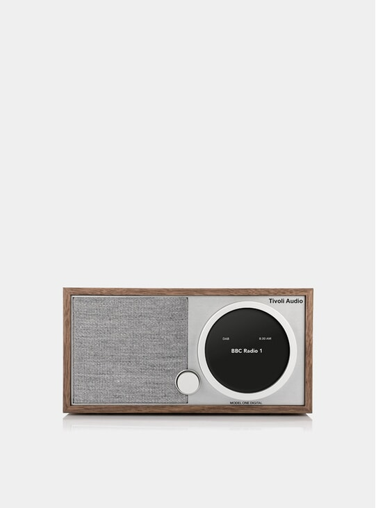 Walnut / Grey Model One Digital Radio