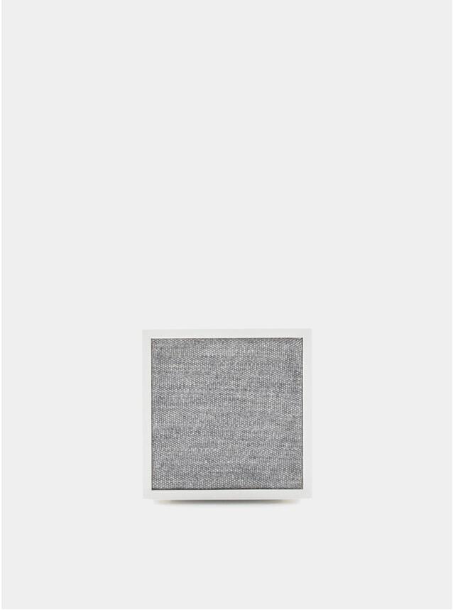 White / Grey Cube Speaker