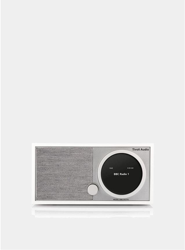 White / Grey Model One Digital Radio