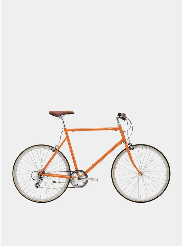 Vintage Orange Classic Sport Bike