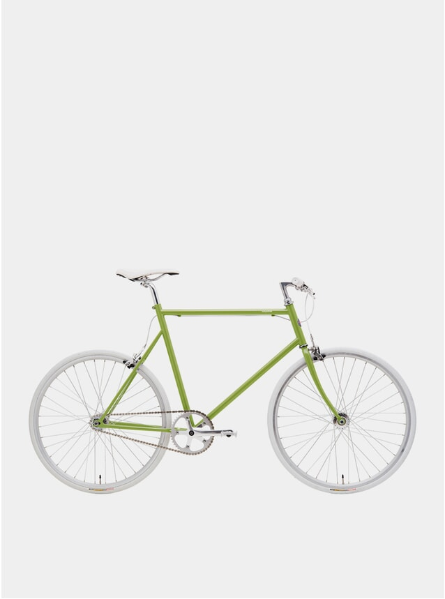Sprout Green / White Single Speed Bike