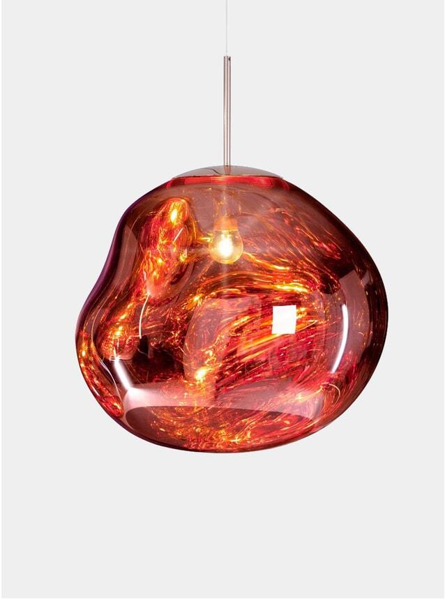 Copper Melt Pendant Light