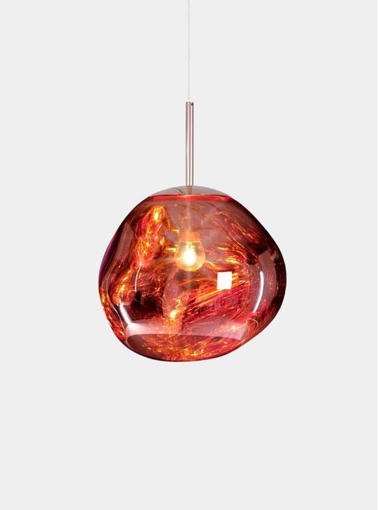 Copper Mini Melt Pendant Light