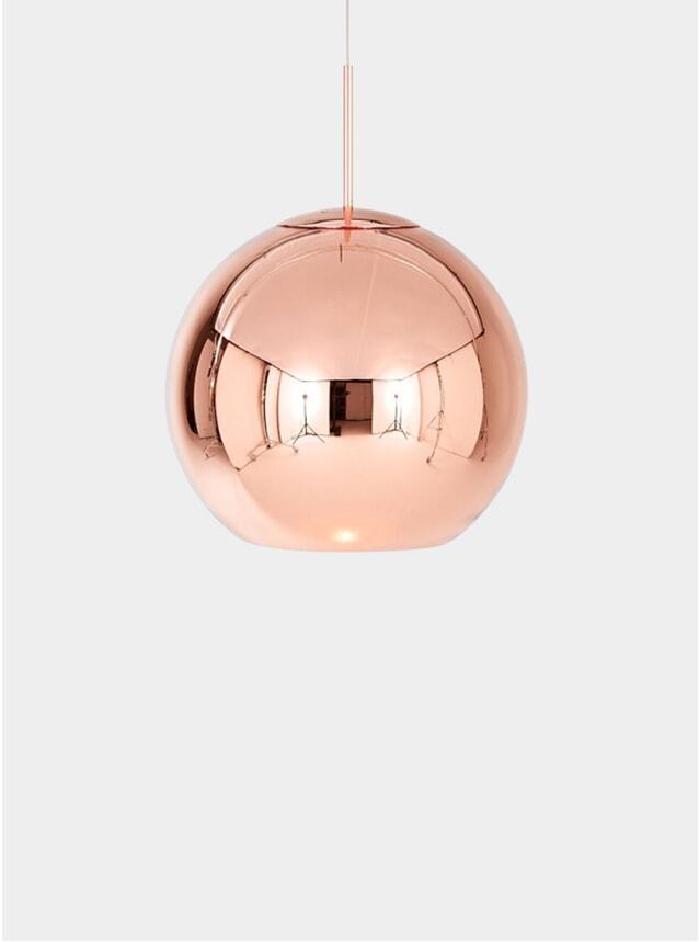 Copper Round 45cm Pendant Light