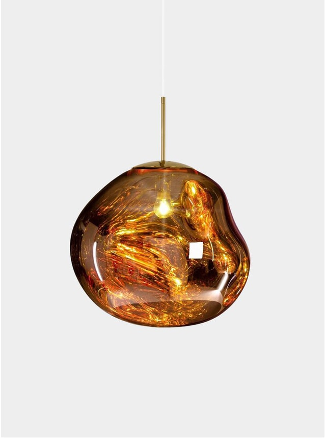 Gold Melt Pendant Light