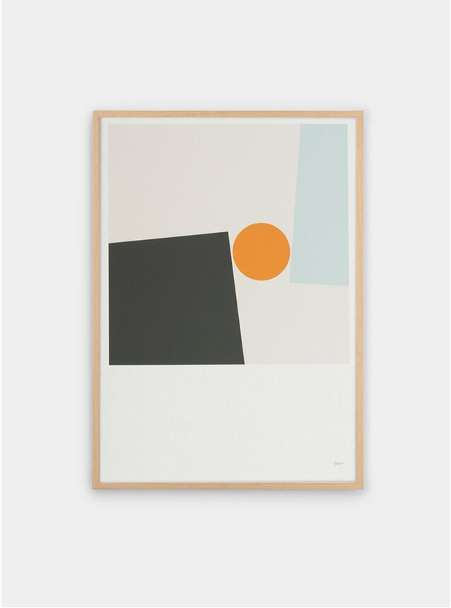 Block and Ball 1 Print