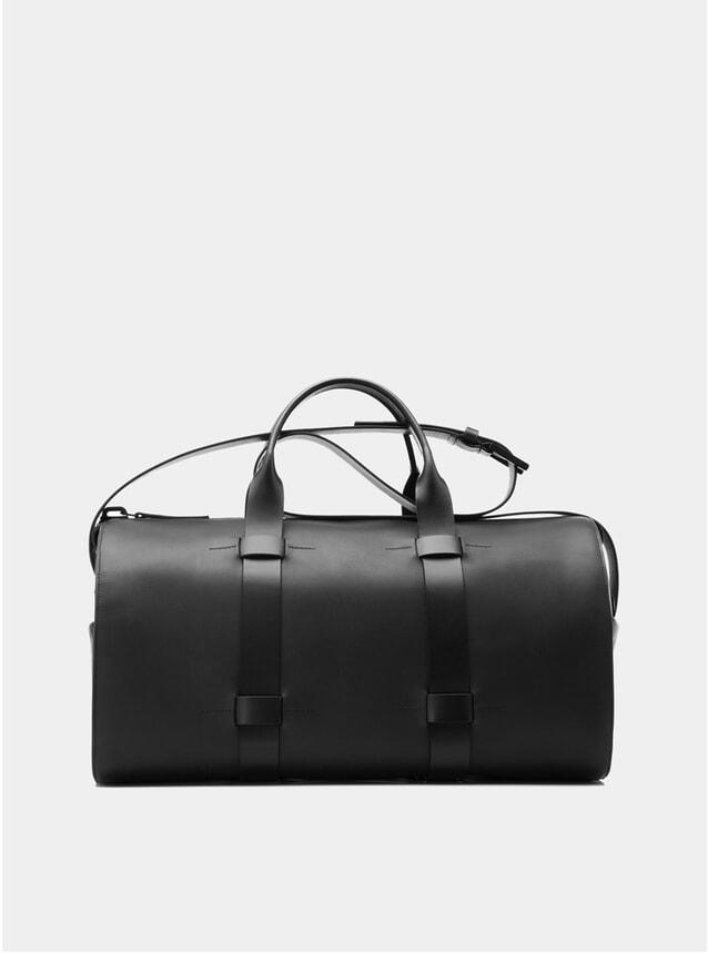 Black Leather Day Bag