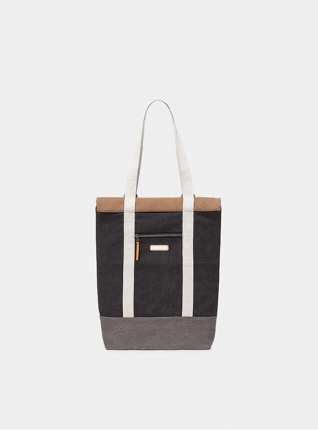 Black / Brown Hendrick Bag