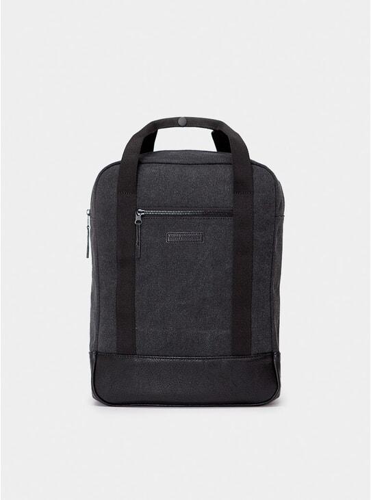 Washed Black Ison Backpack