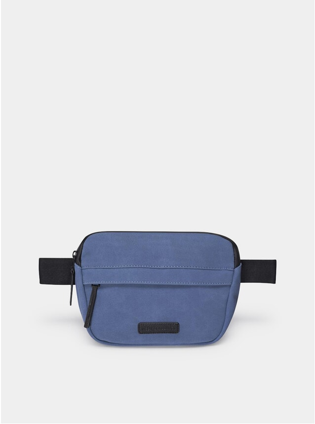 Blue Suede Jacob Bag