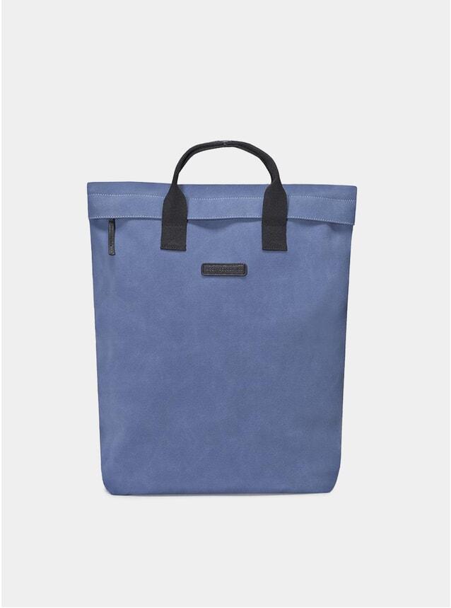 Blue Suede Till Bag