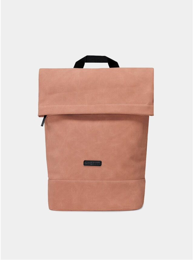Salmon Suede Karlo Backpack