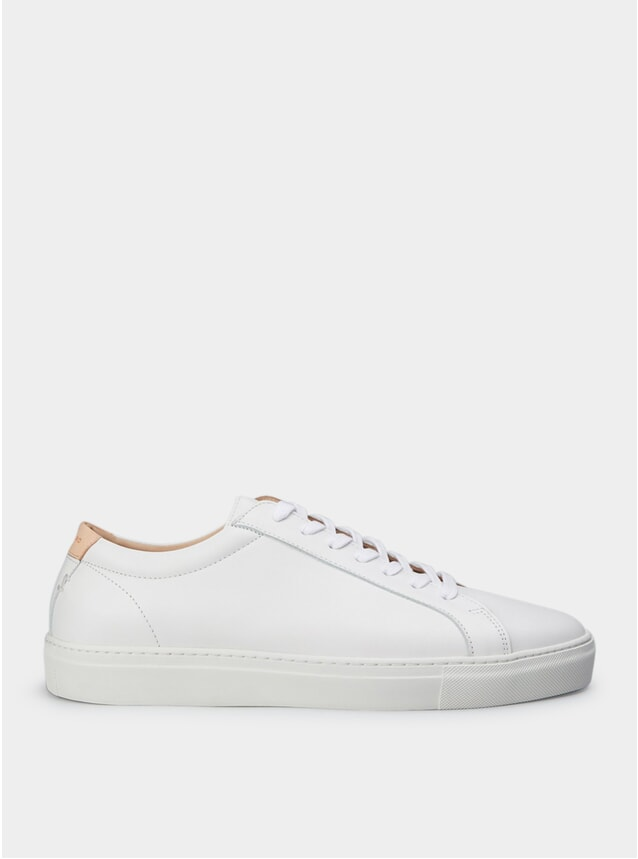 PRE-ORDER White Leather Series 1 Sneakers