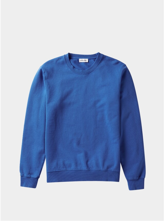 Blue Organic Cotton Sweater
