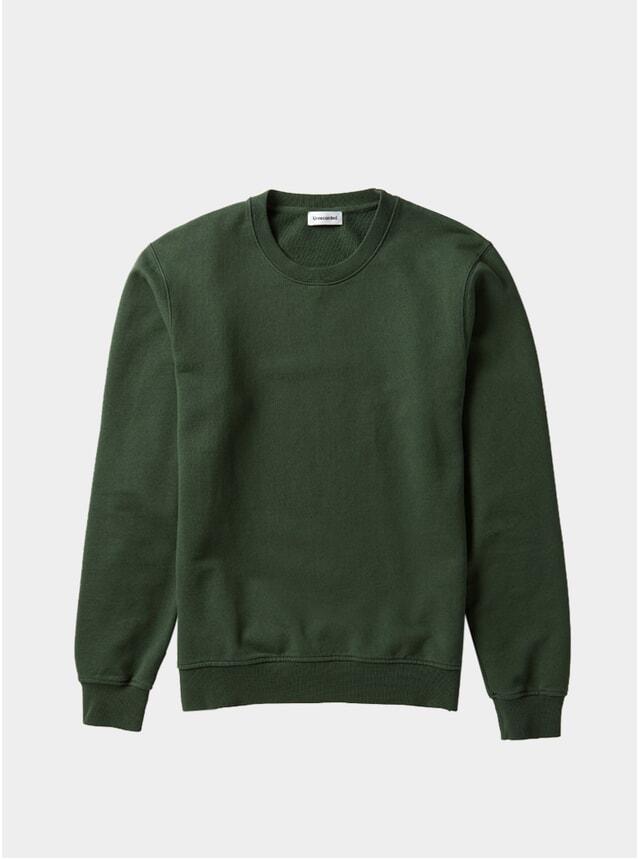 Green Organic Cotton Sweater