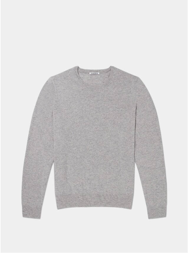 Grey Lambswool Crewneck