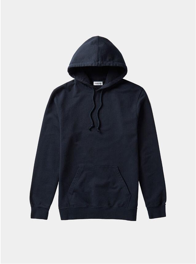 Navy Organic Cotton Hoodie