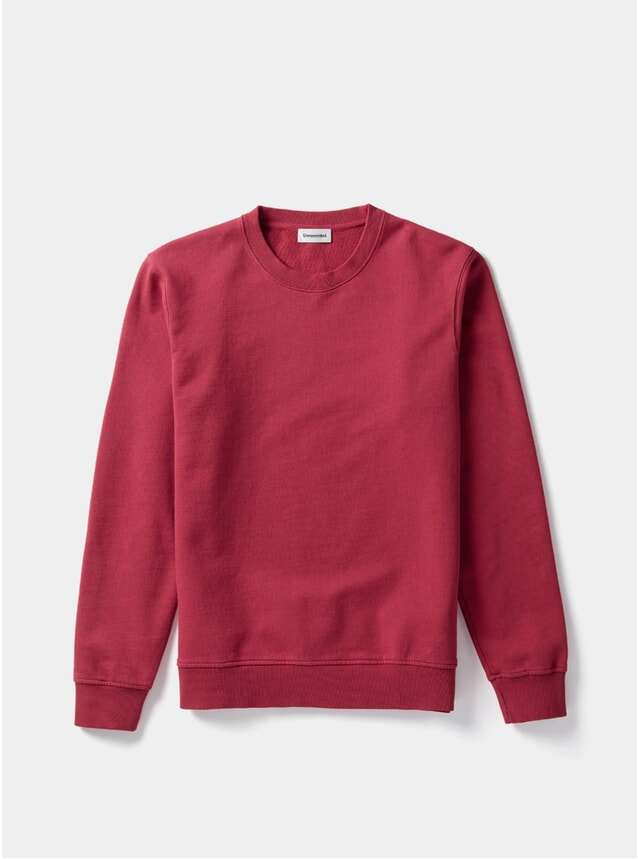 Red Organic Cotton Sweater