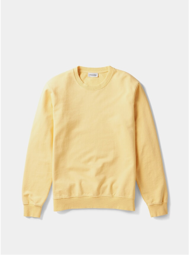 Yellow Organic Cotton Sweater