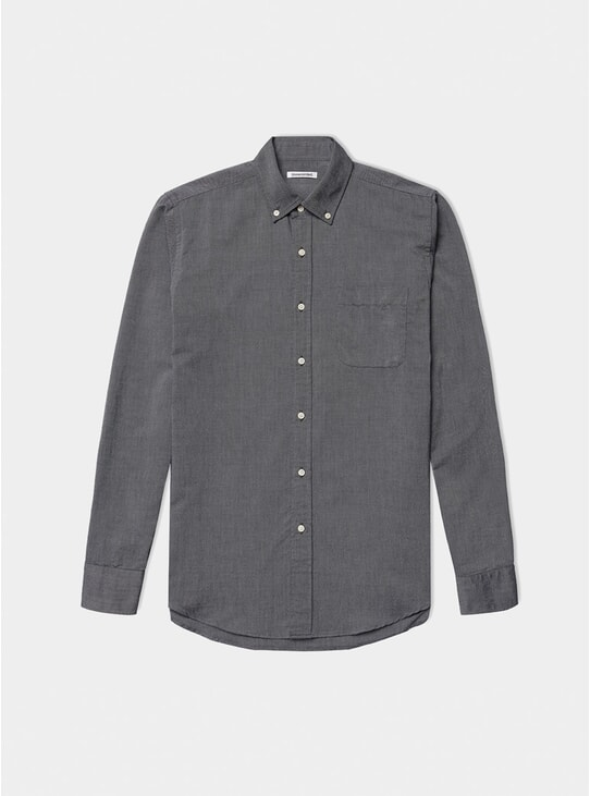 Charcoal Oxford Shirt