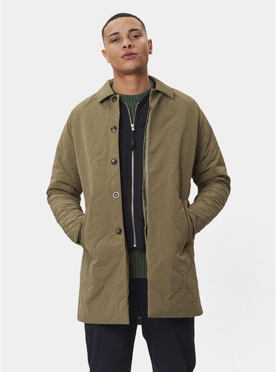 Army Green Atlas Coat