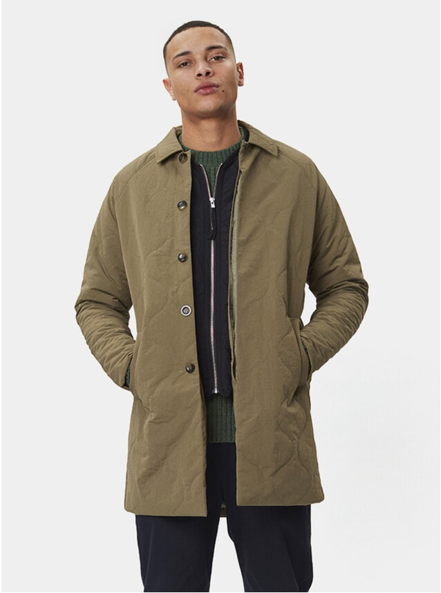 Army Green Atlas Coat