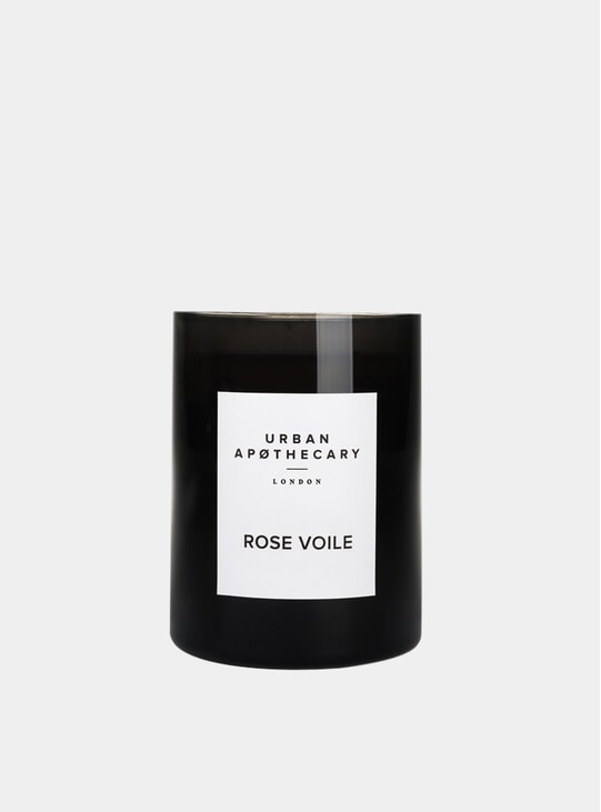 Rose Voile Candle