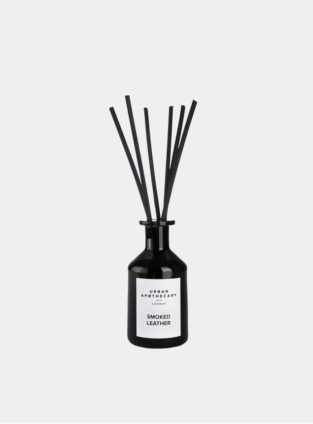 Smoked Leather Reed Diffuser