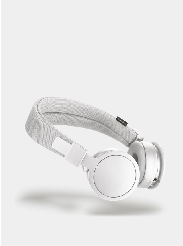 White Plattan ADV Wireless On-Ear Headphones
