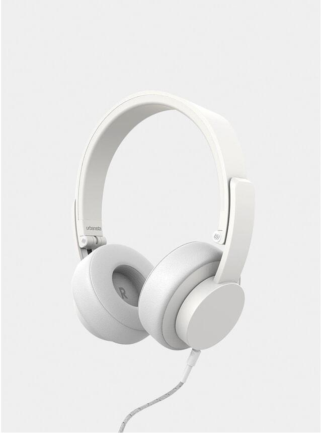 White Seattle Corded Headphones