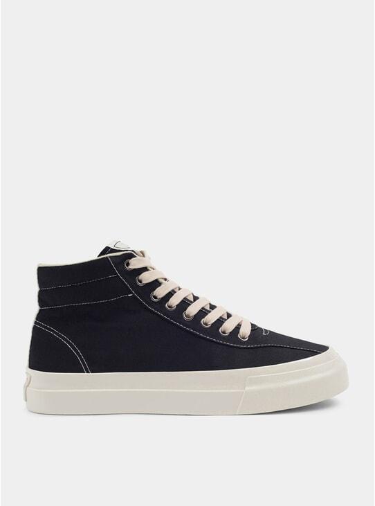 Black Varden Canvas Sneakers