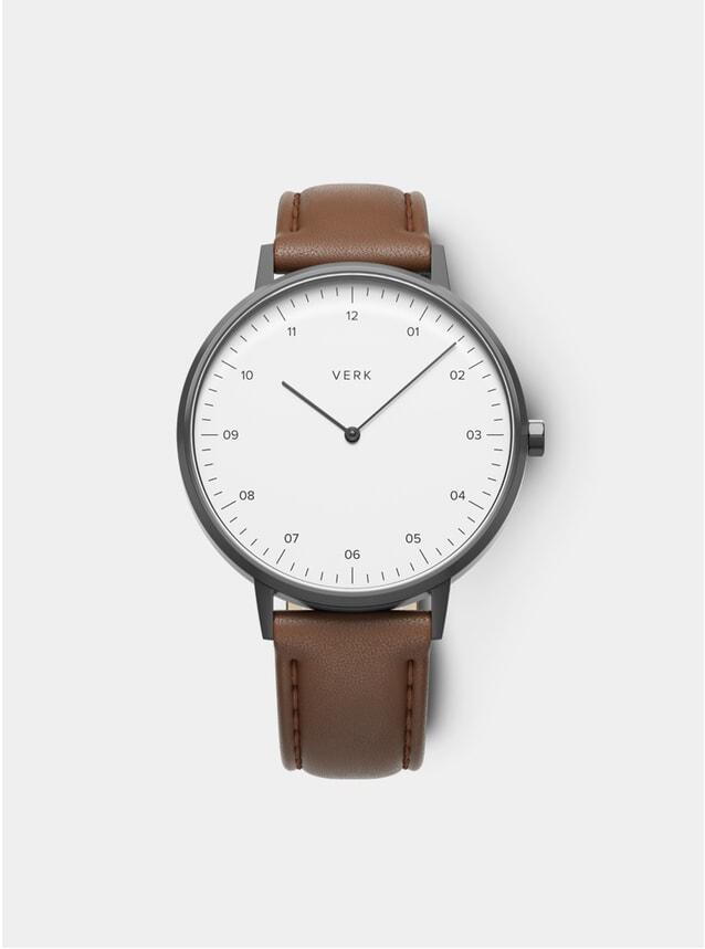ETT 03 Gunmetal / Tan Leather Watch