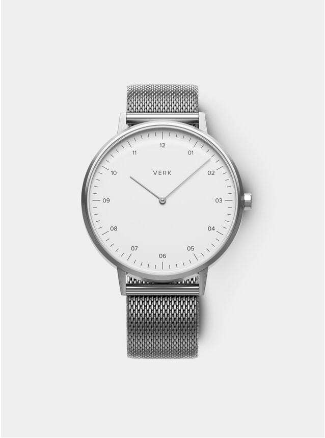 ETT 04 Silver / Mesh Watch