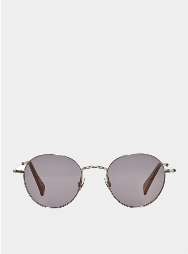Rhodium / Gradient Grey Vicuńa Sunglasses