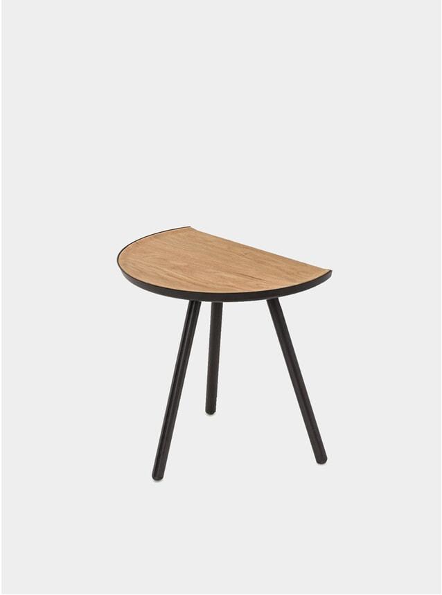 Black / Oak Eclipse Table