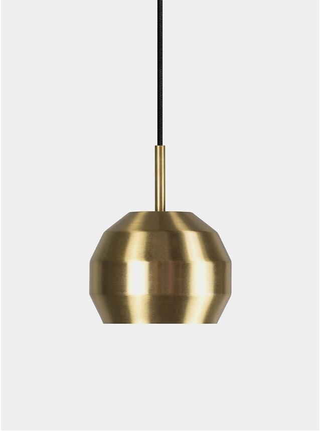 Brass Mini Pitch Pendant Lamp