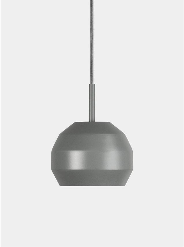 Grey Mini Pitch Pendant Lamp