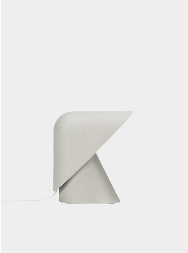 Stoneware K Lamp