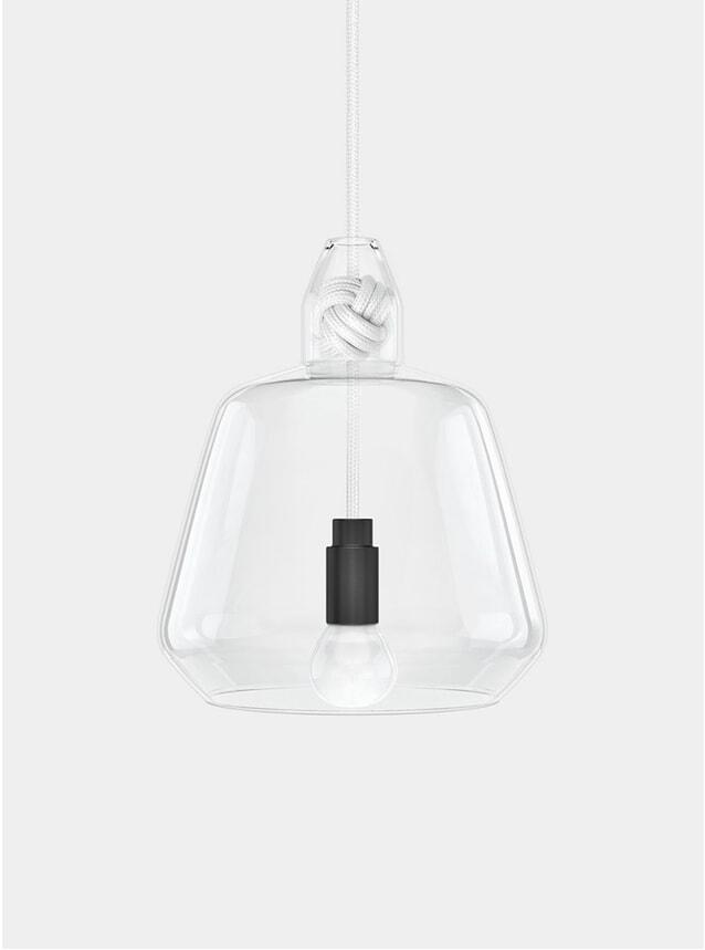 White Knot Pendant Lamp