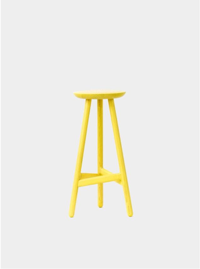Yellow Ninety Bar Stool