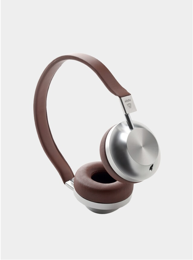 VK-2 Classic Brown Leather Headphones